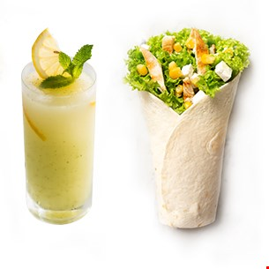 Chicken King Wrap & Limonadă 400ml
