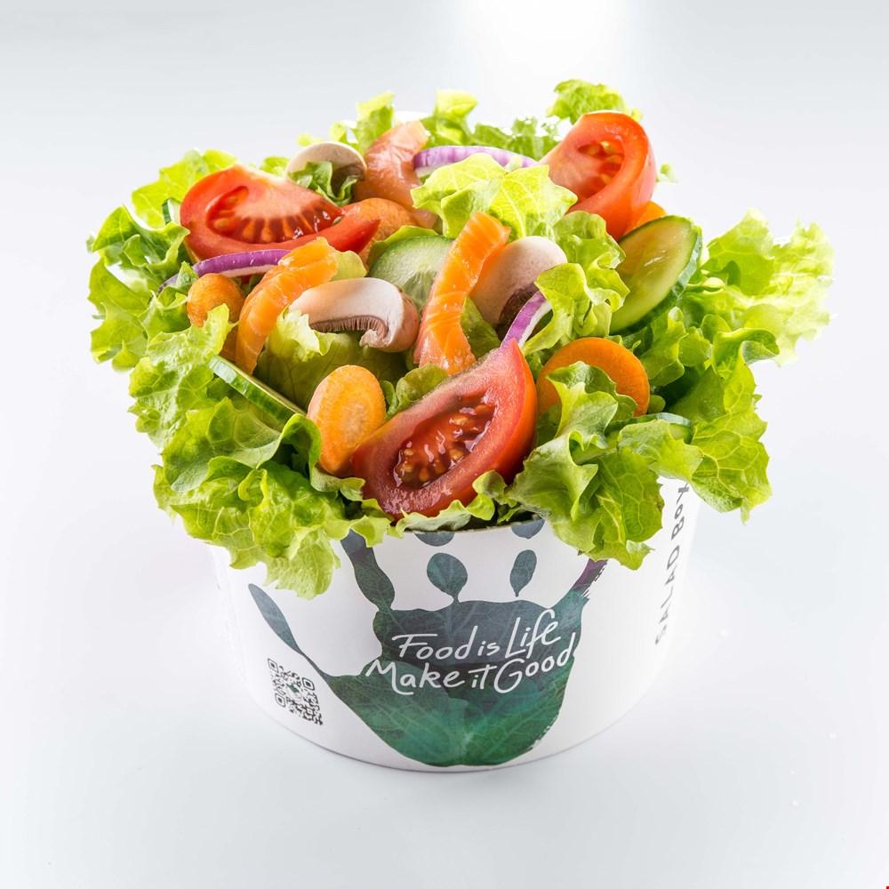 Salată 5 ingrediente cu somon