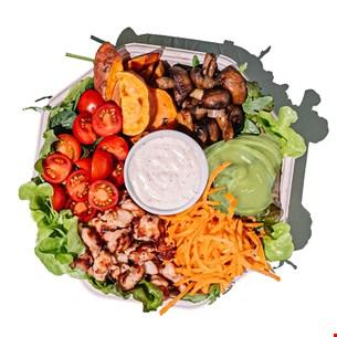 Avo' & Chicken Plate