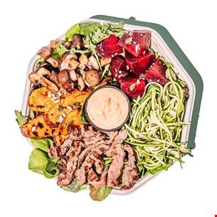 Beef & Mushrooms Plate