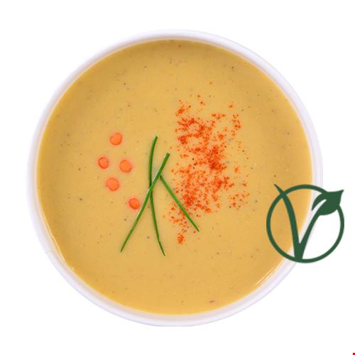 Supă cremă linte roșie